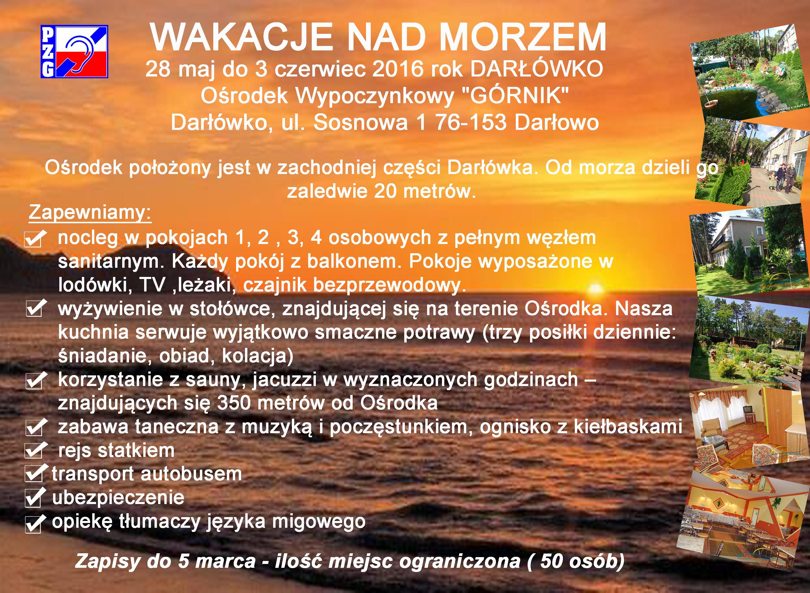 Wakacje Nad Morze Darłowko 02